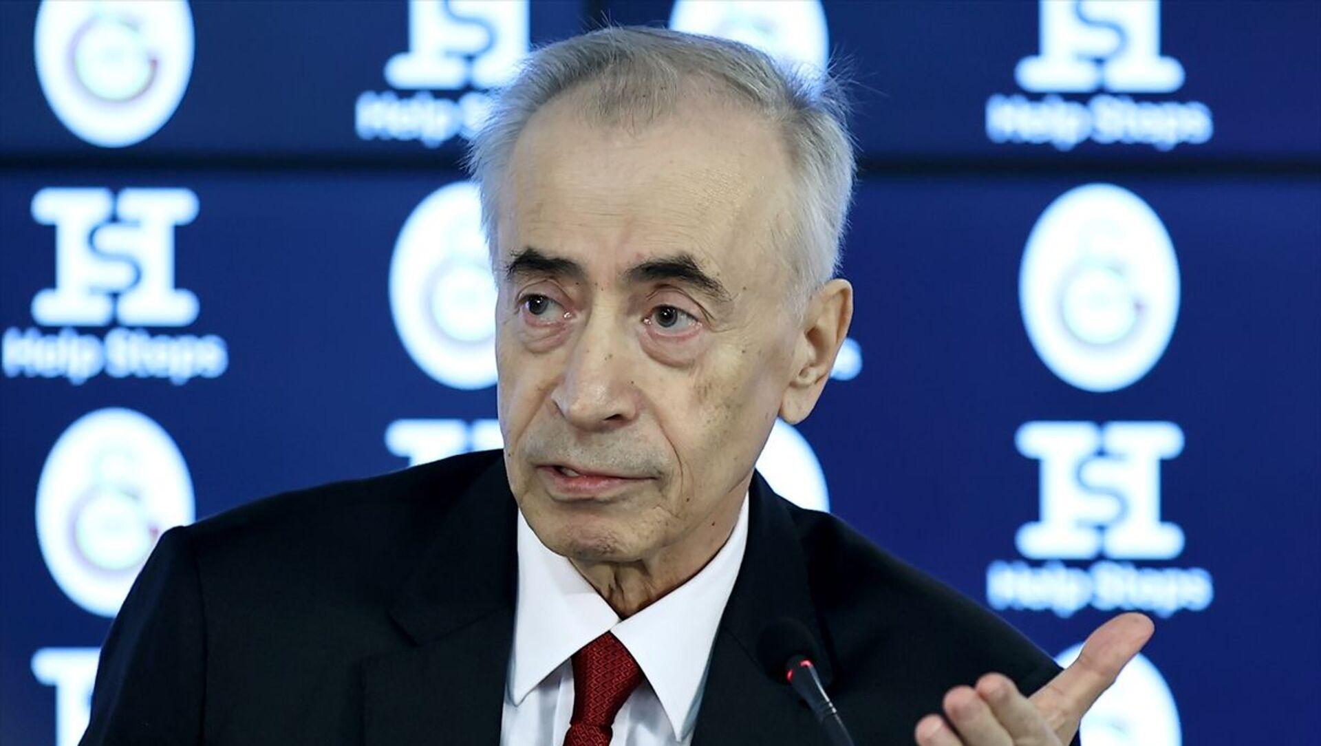 Galatasaray Kulübü Başkanı Mustafa Cengiz - Sputnik Türkiye, 1920, 21.05.2021