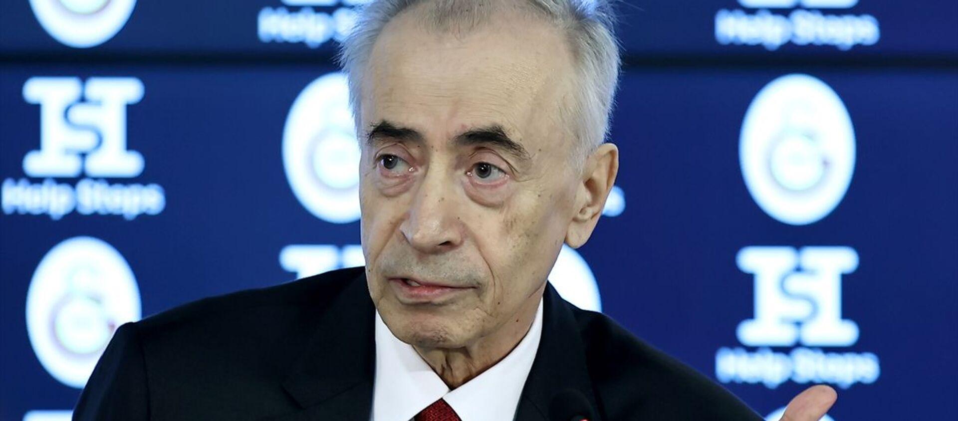 Galatasaray Kulübü Başkanı Mustafa Cengiz - Sputnik Türkiye, 1920, 12.02.2021