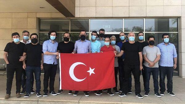 Nijerya - Türk gemiciler - Sputnik Türkiye