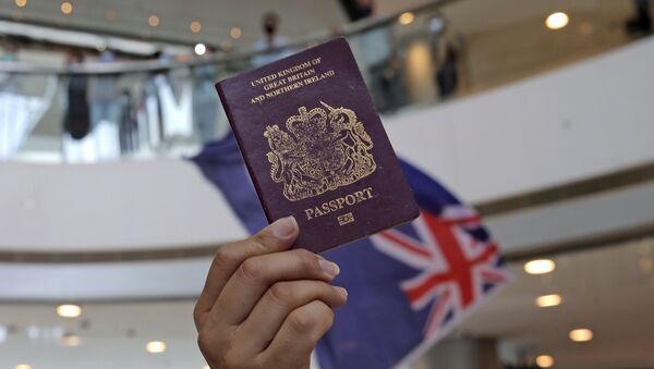 İngiltere, pasaport - Sputnik Türkiye