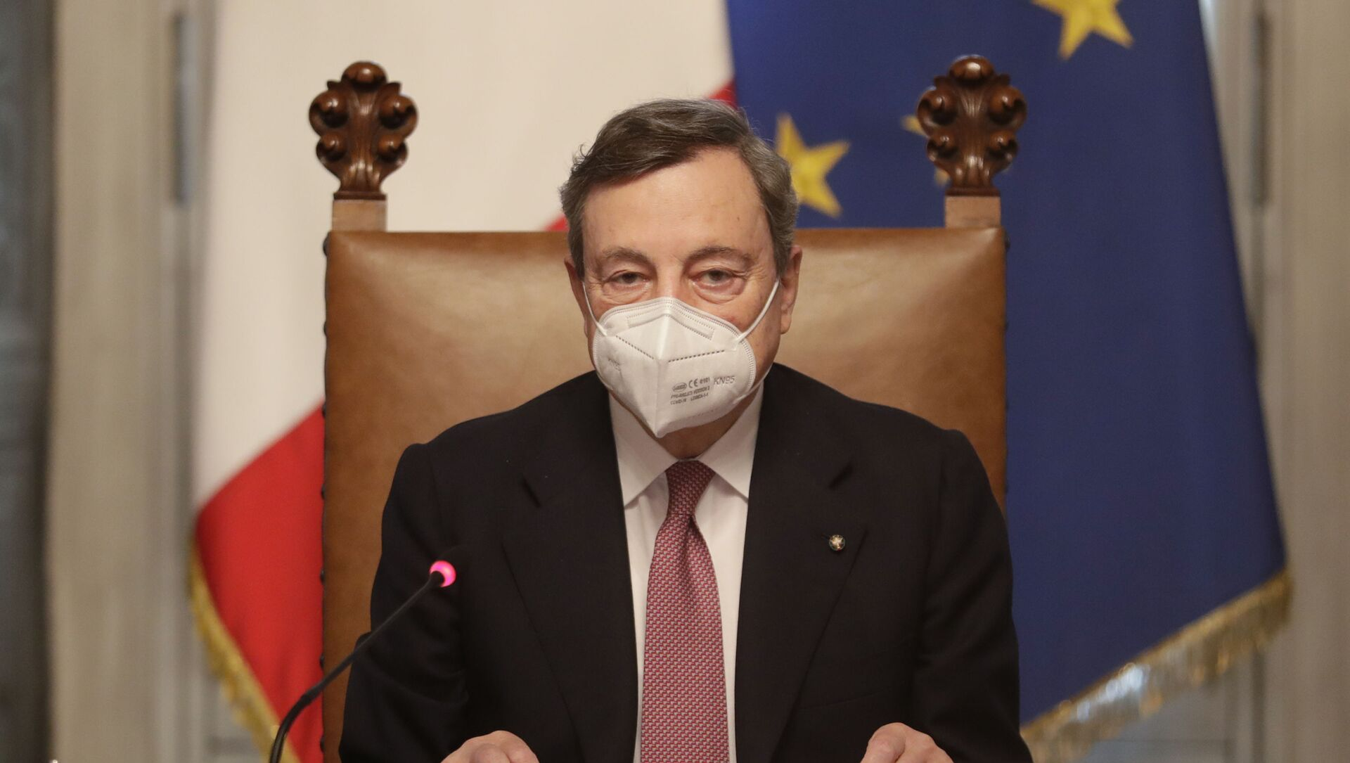 İtalya'nın yeni Başbakanı Draghi - Sputnik Türkiye, 1920, 25.06.2021