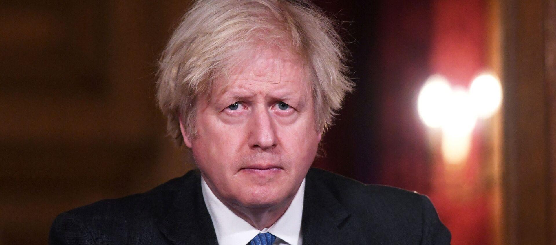 İngiltere BaşbakanıBoris Johnson - Sputnik Türkiye, 1920, 06.03.2021