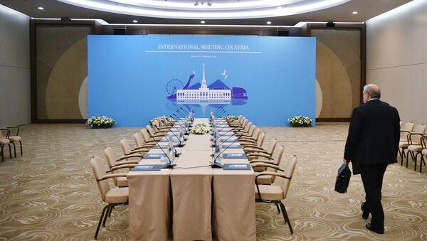 Soçi- Suriye konulu Astana görüşmeleri - Sputnik Türkiye