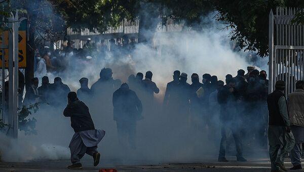 Pakistan - İslamabad - protesto - Sputnik Türkiye