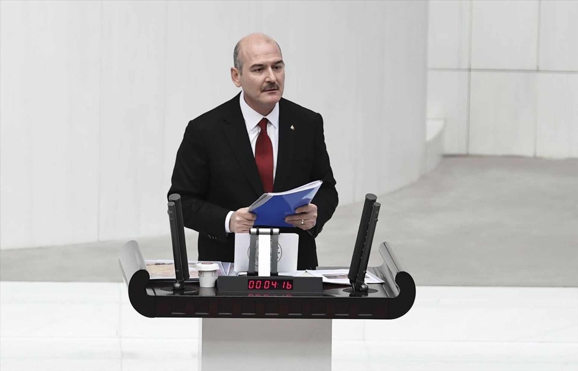Akar ve Soylu, Gara operasyonuyla ilgili Meclis'i bilgilendirdi: 'Evlatlarımız ayın 10'unda şehit oldu' - Sputnik Türkiye, 1920, 16.02.2021