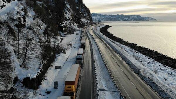 Tır şoförleri Rusya-Gürcistan sınırında mahsur kaldı - Sputnik Türkiye