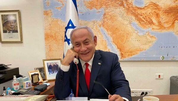 Netanyahu - telefon görüşmesi - Sputnik Türkiye