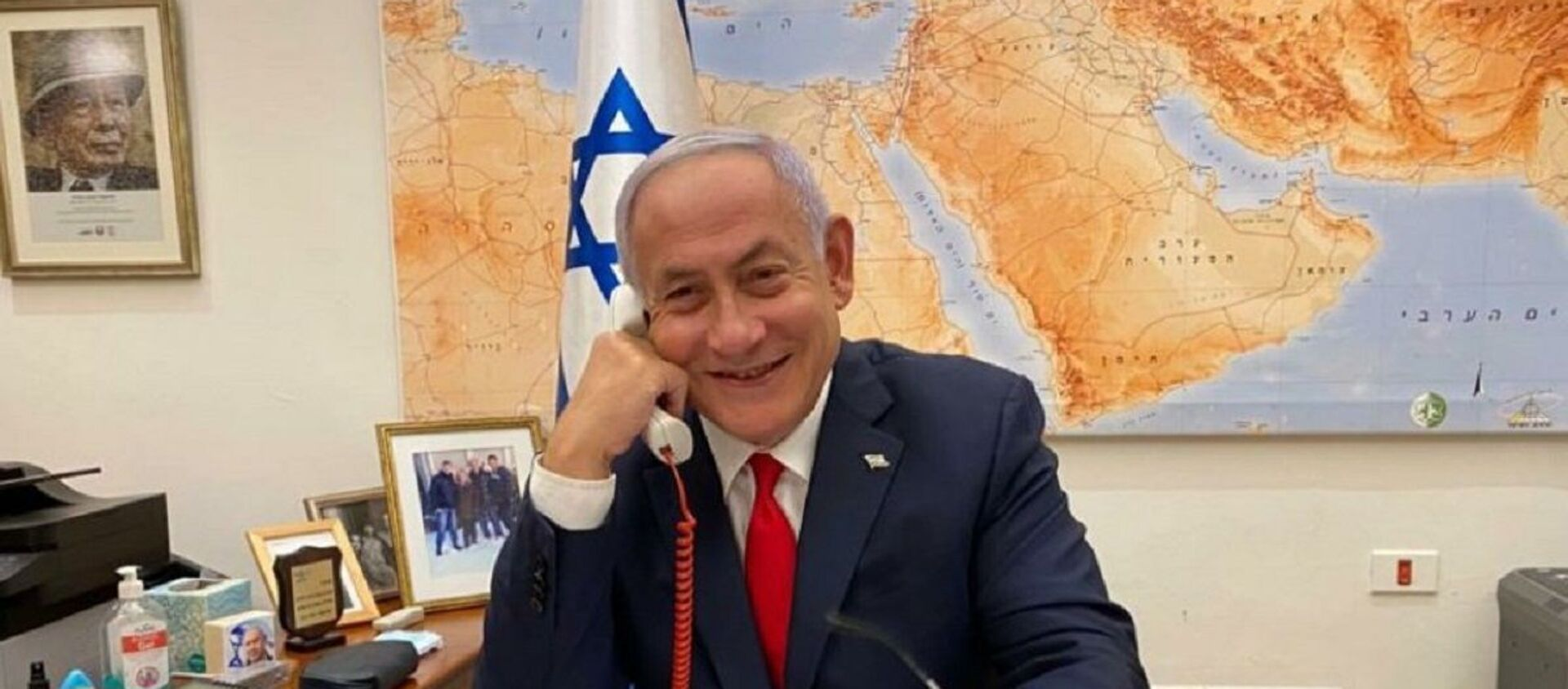 Netanyahu - telefon görüşmesi - Sputnik Türkiye, 1920, 11.03.2021
