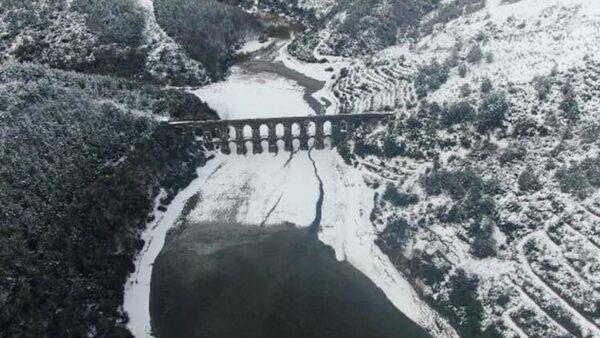 İstanbul baraj kar - Sputnik Türkiye