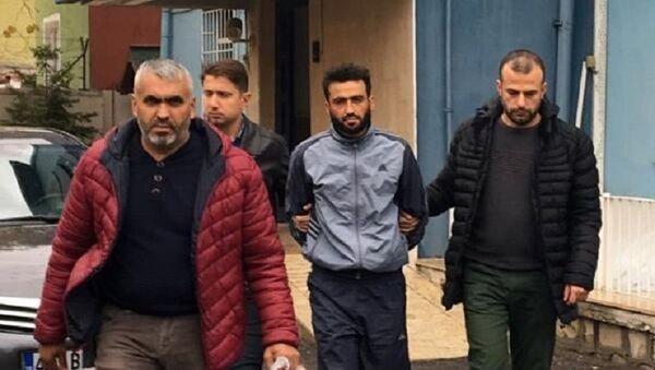 Eşini hortumla öldüren Mahmud El Hüseyin, Konya - Sputnik Türkiye