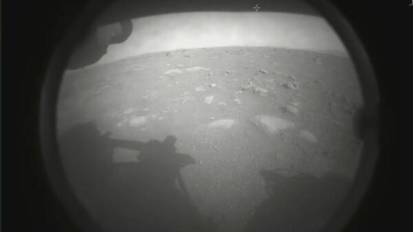Amerikan Uzay ve Havacılık Dairesi NASA, Perseverance adlı keşif aracının Mars yüzeyine başarılı şekilde indiğini duyurdu. - Sputnik Türkiye