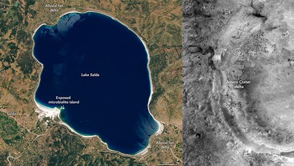 Jezero Krateri - Salda Gölü - Sputnik Türkiye