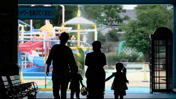 Japonya- Çocuk-Aile - Sputnik Türkiye