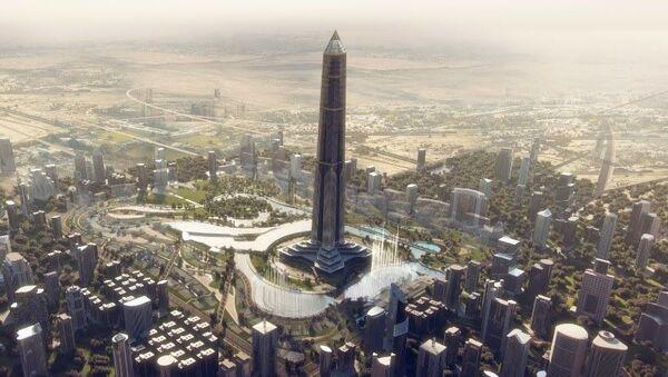 Afrika'nın en yüksek binası Mısır'da yükseliyor - Sputnik Türkiye