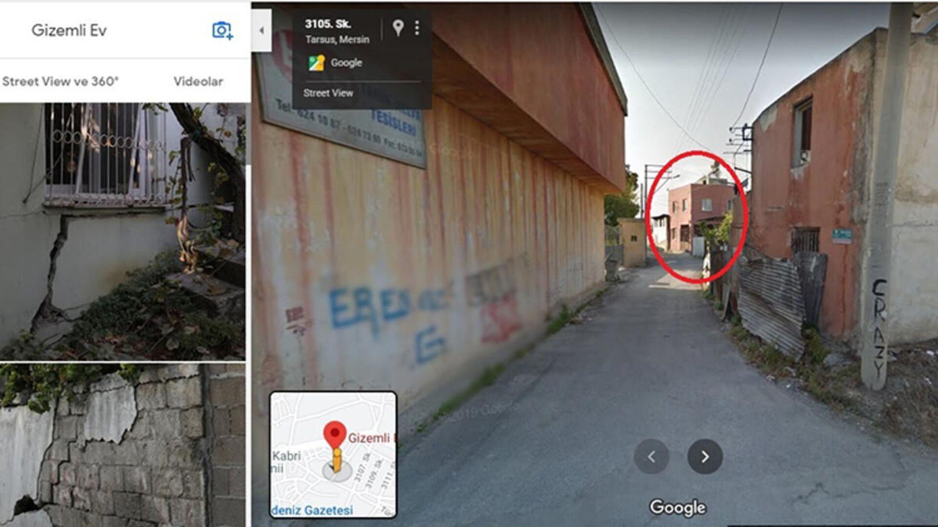 Mersin'deki 'gizemli ev' Google'ın haritalar hizmetinde işaretlendi - Sputnik Türkiye, 1920, 19.02.2021