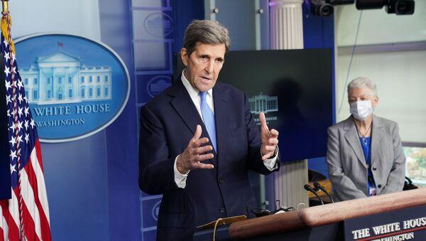 ABD İklim Özel Temsilcisi John Kerry - Sputnik Türkiye