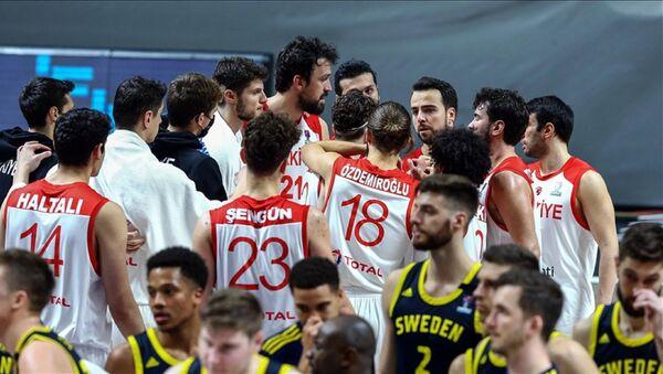 Türkiye A Milli Erkek Basketbol Takımı - Sputnik Türkiye