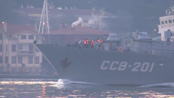 Rus istihbarat gemisi - Sputnik Türkiye