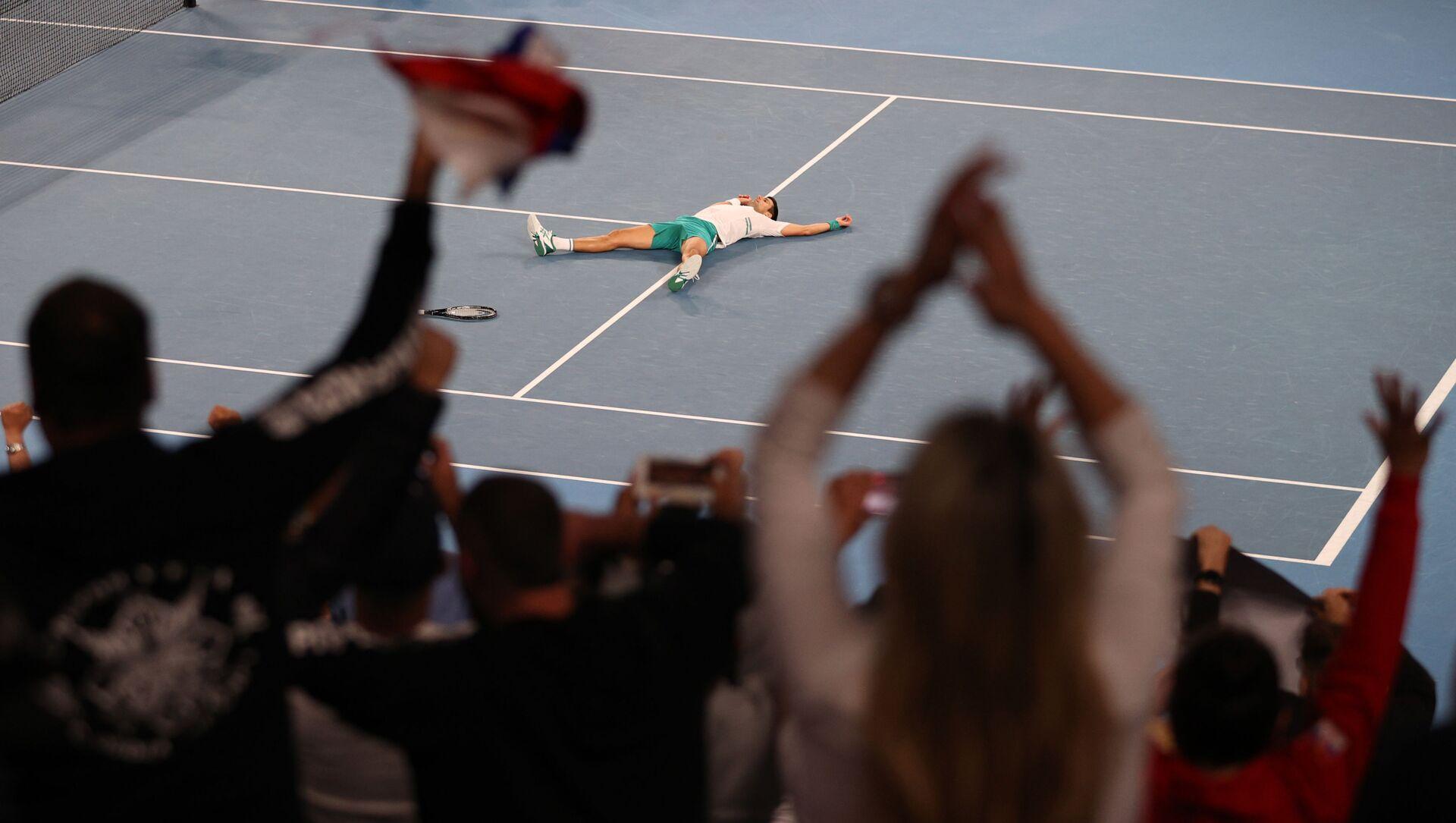 Novak Djokovic  - Sputnik Türkiye, 1920, 21.02.2021
