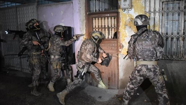 Ankara'da IŞİD operasyonu: 14 gözaltı - Sputnik Türkiye