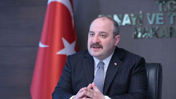 Sanayi ve Teknoloji Bakanı Varank, COVID-19 ve Toplum etkinliğinin açılışında konuştu - Sputnik Türkiye
