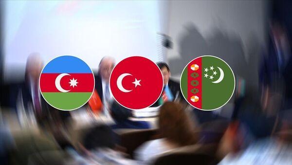 Türkiye-Azerbaycan-Türkmenistan Üçlü Dışişleri Bakanları 5. Toplantısı Türkiye'de düzenlenecek - Sputnik Türkiye