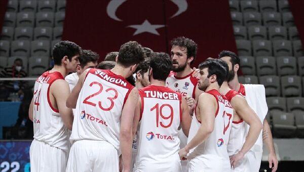 A Milli Erkek Basketbol Takımı - Sputnik Türkiye