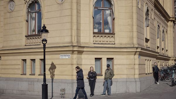 İsveçlilerden sokak adlarındaki İsveç alfabesi harflerinin kaldırılması kararına tepki - Sputnik Türkiye