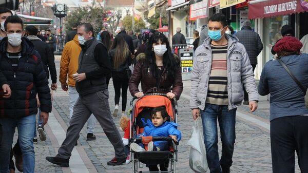 Trakya, koronavirüs, maske - Sputnik Türkiye