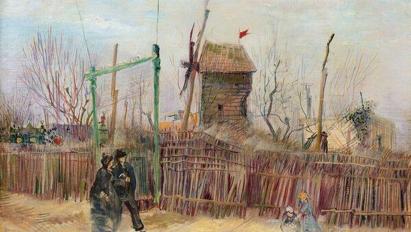 Van Gogh'un sergilenmemiş eseri Montmartre 10 milyon dolara açık artırmada - Sputnik Türkiye