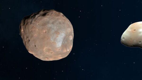 Mars'ın uyduları Phobos ve Deimos - Sputnik Türkiye