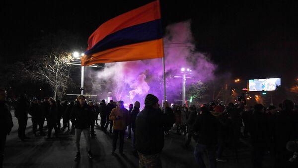 Ermenistan - Erivan - protesto - Sputnik Türkiye