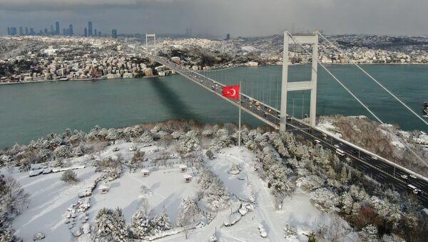 Küresel soğumayla İstanbul Boğazı donacak - Sputnik Türkiye