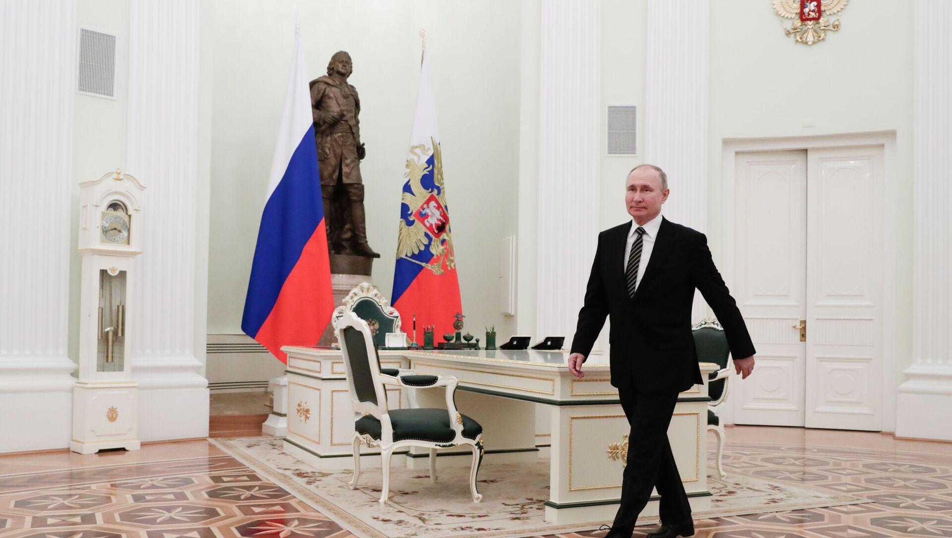 Vladimir Putin - Sputnik Türkiye, 1920, 26.02.2021