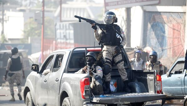 Haiti - polis - Sputnik Türkiye