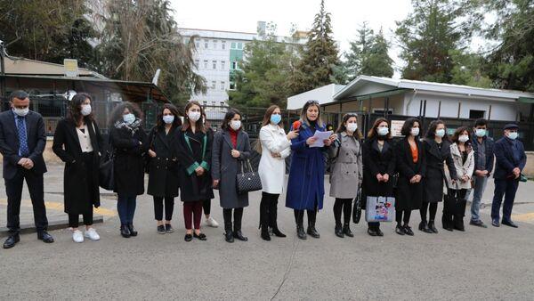 Diyarbakır Barosu Kadın Hakları Merkezi - Sputnik Türkiye