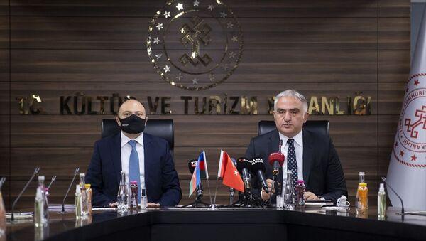 Türkiye-Azerbaycan 1. Kültür Karma Komisyon Toplantısı - Sputnik Türkiye