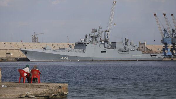 ABD'nin USS Winston S. Churchill destroyeri de Port Sudan'a giriş yaptı - Sputnik Türkiye