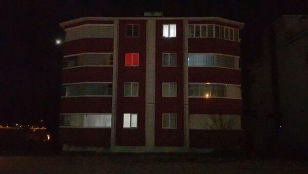 Karabük'te karantinaya alınan apartman - Sputnik Türkiye