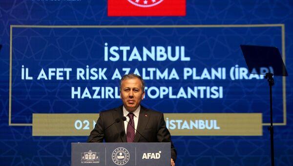 İstanbul Valisi Ali Yerlikaya - Sputnik Türkiye