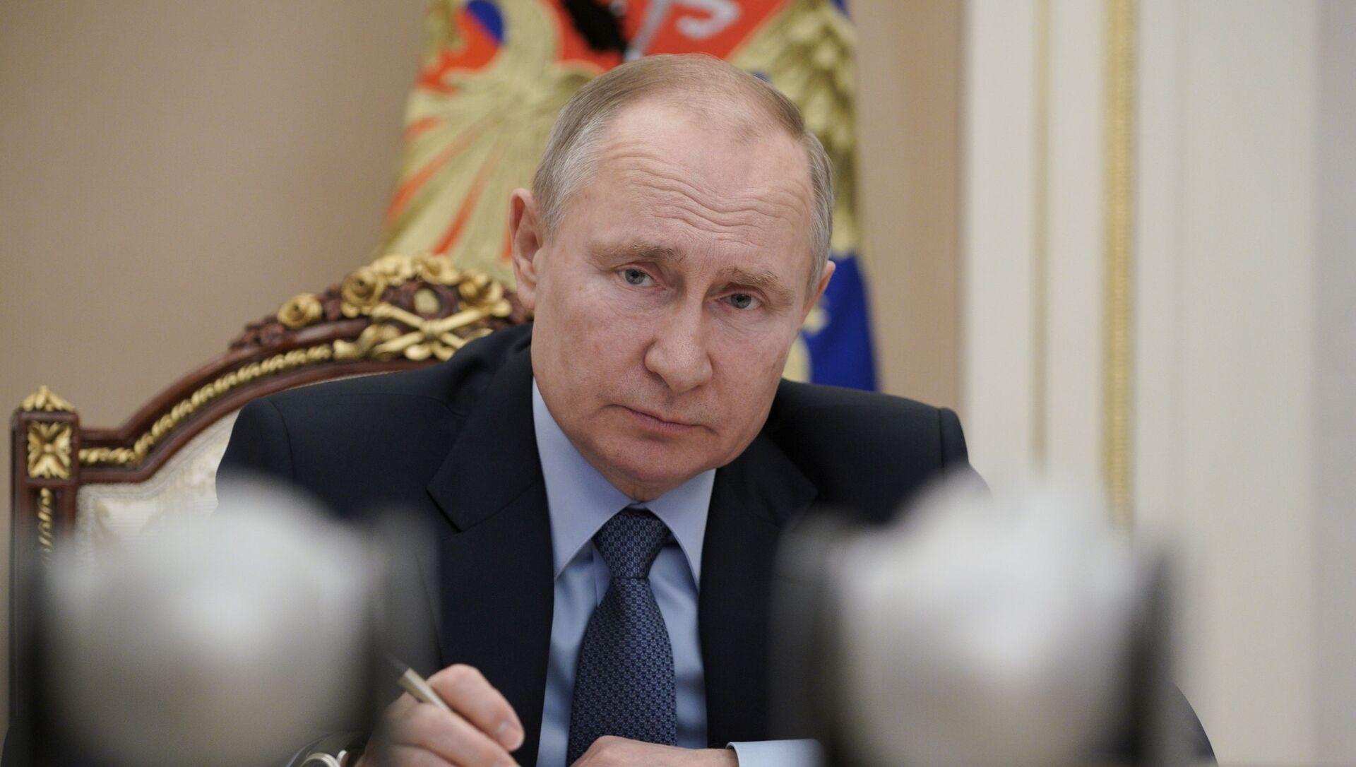 Vladimir Putin - Sputnik Türkiye, 1920, 07.03.2021