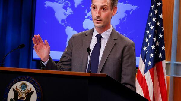ABD Dışişleri Bakanlığı Sözcüsü Ned Price - Sputnik Türkiye