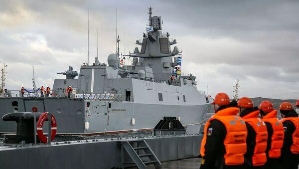 Amiral Kasatonov fırkateyni - Sputnik Türkiye