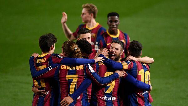 Barcelona - Sevilla - Kral Kupası - Sputnik Türkiye
