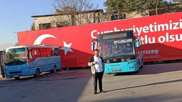 Tacizci halk otobüsü şoförü - Sputnik Türkiye