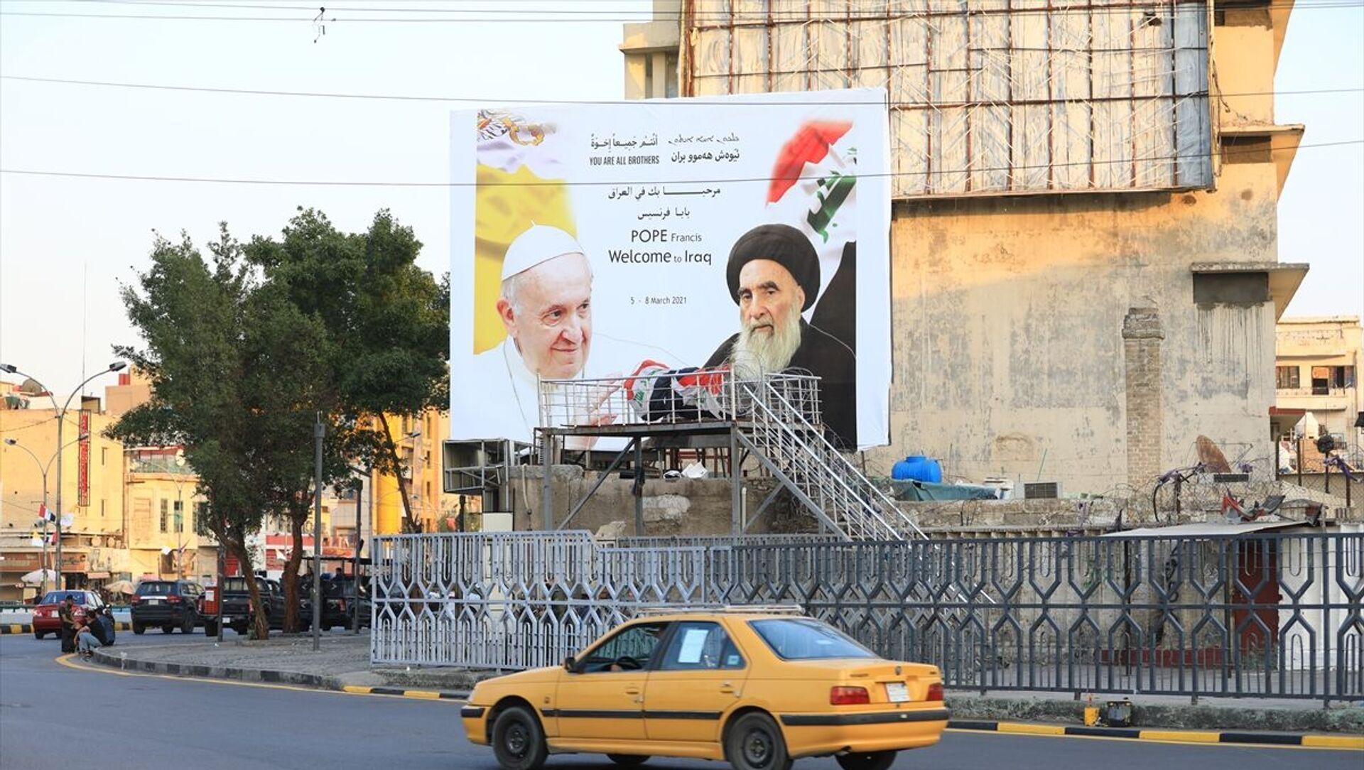 'Papa'nın Irak ziyaretinden İran karşıtı Şiiler mutlu' - Sputnik Türkiye, 1920, 04.03.2021