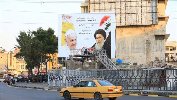 'Papa'nın Irak ziyaretinden İran karşıtı Şiiler mutlu' - Sputnik Türkiye