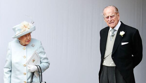 Kraliçe Elizabeth - Prens Philip - Sputnik Türkiye