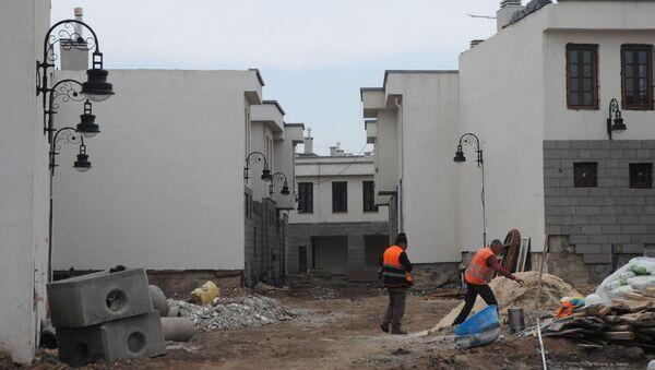 Sur'a yapılan villalar, inşaat, Diyarbakır - Sputnik Türkiye