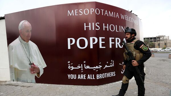 Irak'ta Papa için hazırlıklar tamam - Sputnik Türkiye